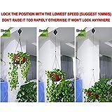 Plant Pulley, Retractable Heavy Duty Easy Reach