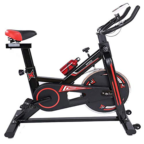 HLH-Fitness Equipment Durable Exercise Bike Mute Trainer Bicycle Advanced with Training Computer and Elliptical Cross Trainer Non-Slip
