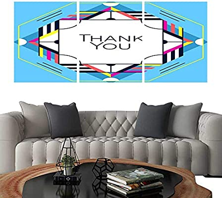 Amazon com: Canvas Print Wall Art Thank you greeting card