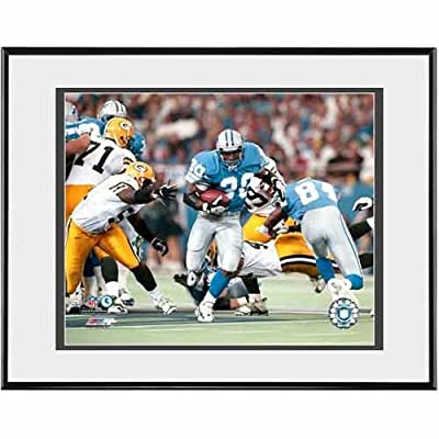 Photo File Detroit Lions Barry Sanders 'Game Action' 8x10 Framed Photo