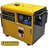 Générateur 4.5 Kw - Diesel - Groupe électrogène silencieux - Démarrage électrique Automatique ATS