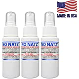 No Natz | Gnat, Mosquito and Biting Flies Repellant | Effective Personal Botanical Bug Spray | Hand-Crafted DEET-Free Hypoall