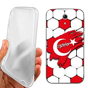 CUSTODIA COVER CASE EUROPEI TURCHIA PER VODAFONE SMART 4 TURBO