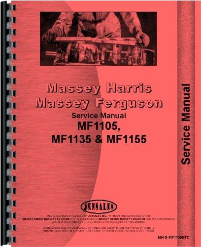 Massey Ferguson 1105 1135 1155 Tractor Service Manual (MH-S-MF1105ETC)