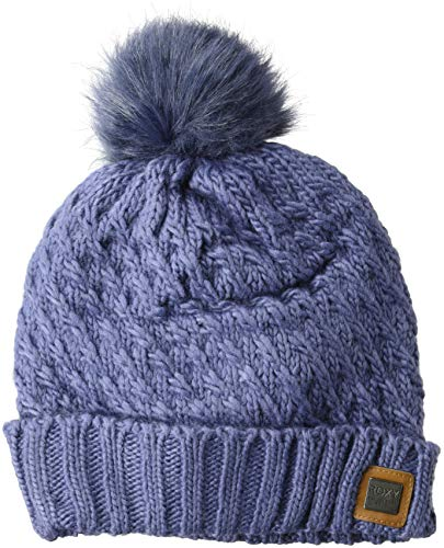Roxy Snow Junior's Blizzard Snow Beanie, Crown Blue, 1SZ