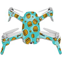 Skin For Yuneec Breeze 4K Drone – Burger Heaven | MightySkins Protective, Durable, and Unique Vinyl Decal wrap cover | Easy To Apply, Remove, and Change Styles | Made in the USA