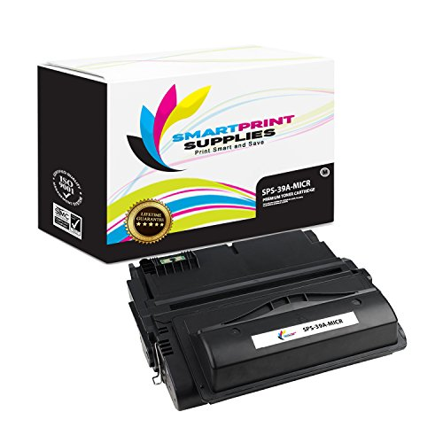 Smart Print Supplies Compatible 39A Q1339A MICR Black Toner Cartridge Replacement for HP Laserjet 4300dtns Printers (18,000 ()