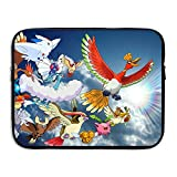Funny Pokemon 13 And 15 Inch Water-Resistant Laptop Sleeve For Acer/Asus/Dell/Fujitsu/Lenovo/HP/Samsung/Sony/Toshiba/Ipad