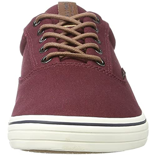 Jack & Jones Jfwvision Mixed AW, Zapatillas para Hombre, Rojo (Port Royale), 43 EU Jack & Jones