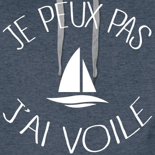 Spreadshirt Je Peux Pas JAi Voile Sweat-Shirt /à Capuche Premium pour Hommes