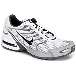 Nike Mens Air Max Torch 4 Running Shoe (12 D(M) US, White/Anthracite/Wolf Grey)