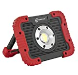 Parts Flix Ultra Bright Spotlight Rechargeable Portable LED Work Light,Outdoor Waterproof Flood Lights (PF-W5112R-R)