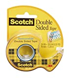 double sided tape non permanent - 3M 238 Removable Double Sided Tape