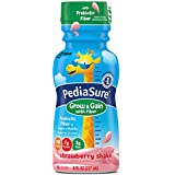 Pediasure Nutrition Drink with Fiber, Strawberry, 8 fluid ounce ,24 Count (Packaging May Vary)