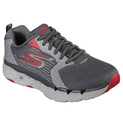 Skechers Men's GOrun MaxRoad 3 Ultra Shoe (13 (D) US, Charcoal)