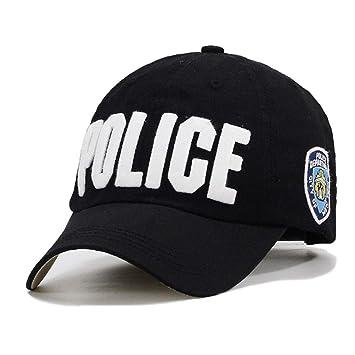 NIGHT WALL Gorra Deportiva, Mayor Cálido Gorras Policía Abrazo Hombres Mujeres Unisex Sombrero Unisex Hombres. Pasa el ratón por ...