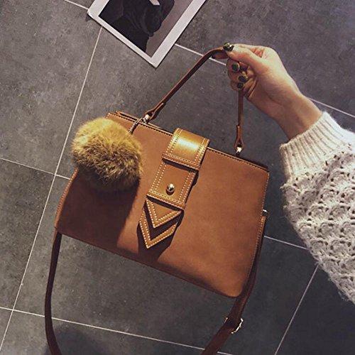 Aoligei Rétro boucle sac Simple sac à main féminin loisir mode simple seul messager sac à bandoulière Payer Avec La Vente De Visa En Ligne Jeu 2018 Unisexe XWPWkj3TB