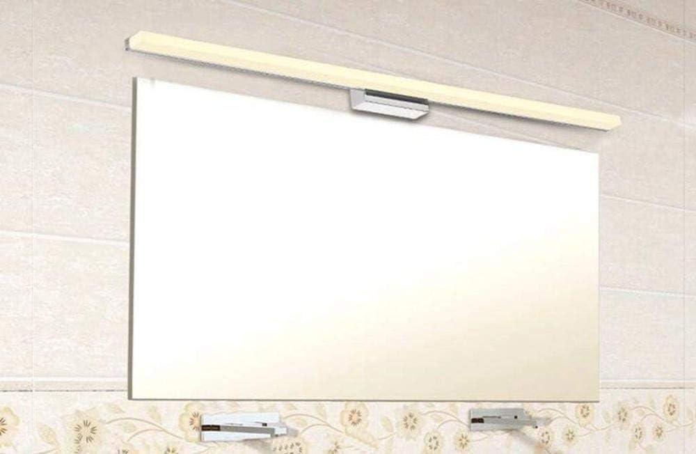 PING LED Baño Lámpara Espejo Luz Baño Lámpara Aplique 120cm [Clase Energética A ++],150cm