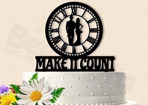 Make It Count Titanic Inspired Wedding Cake Topper