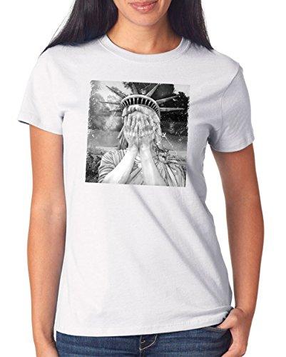 Liberty Shame T-Shirt Girls White Certified Freak