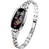 EElabper - Reloj inteligente H8 resistente al agua, pulsera inteligente inteligente reloj de pulsera inteligente con…
