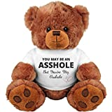 Funny Teddy Bear Couple Gift: Medium Teddy Bear Stuffed Animal