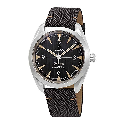 Watch Automatic Wrist Omega (Omega Seamaster Railmaster Automatic Mens Watch 220.12.40.20.01.001)
