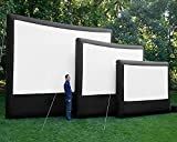 5X8M Outdoor Inflatable Movie Screen with Blower Projection 605826817742Wall Size Logo Can Be Customized