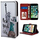 Statue of Liberty Wallet Case Fit iPhone 6 | iPhone 6S (4.7 Inch) Flap