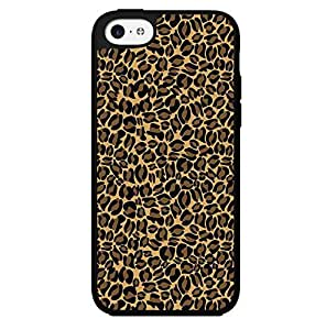 Cheetah Print Hard Snap on Phone Case (iPhone 5c) by lolosakes