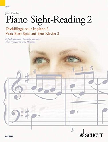Piano Sight-Reading, Vol. 2: A Fresh Approach