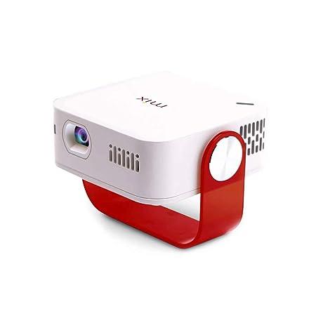 Mini proyector portátil Hogar HD 1080P WiFi inalámbrico teléfono ...