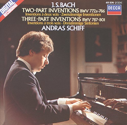Bach, J.S.: Two and Three Part...