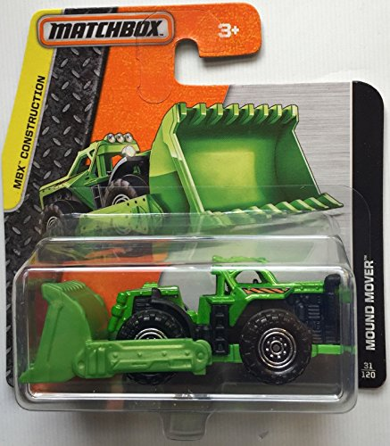 Matchbox MBX Construction Mound Mover 31/120 Short Card - Mbx Mover