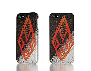 Apple iPhone 4 / 4S Case - The Best 3D Full Wrap iPhone Case - red fractals symbol hand made photoshop