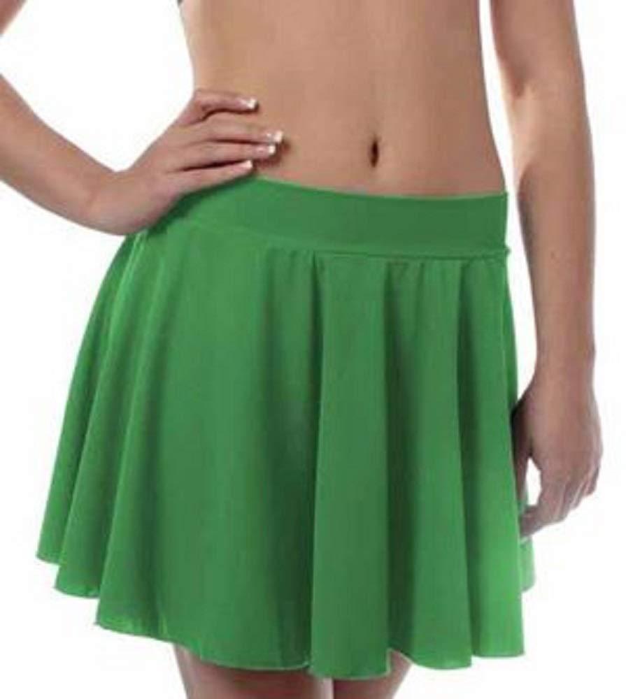 Girls Irish Dance Skirt Medium Green by B Dancewear Child Sizes by Bailar Dancewear