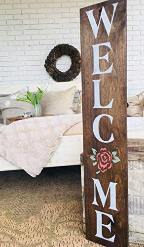 Amazon Com Adonis554dan Welcome Signs Welcome Flower Signs Welcome