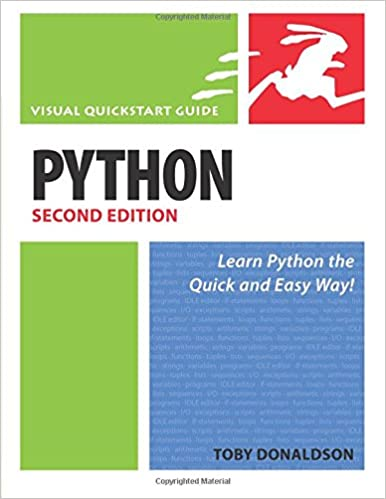 Python Visual Quickstart Guide Pdf