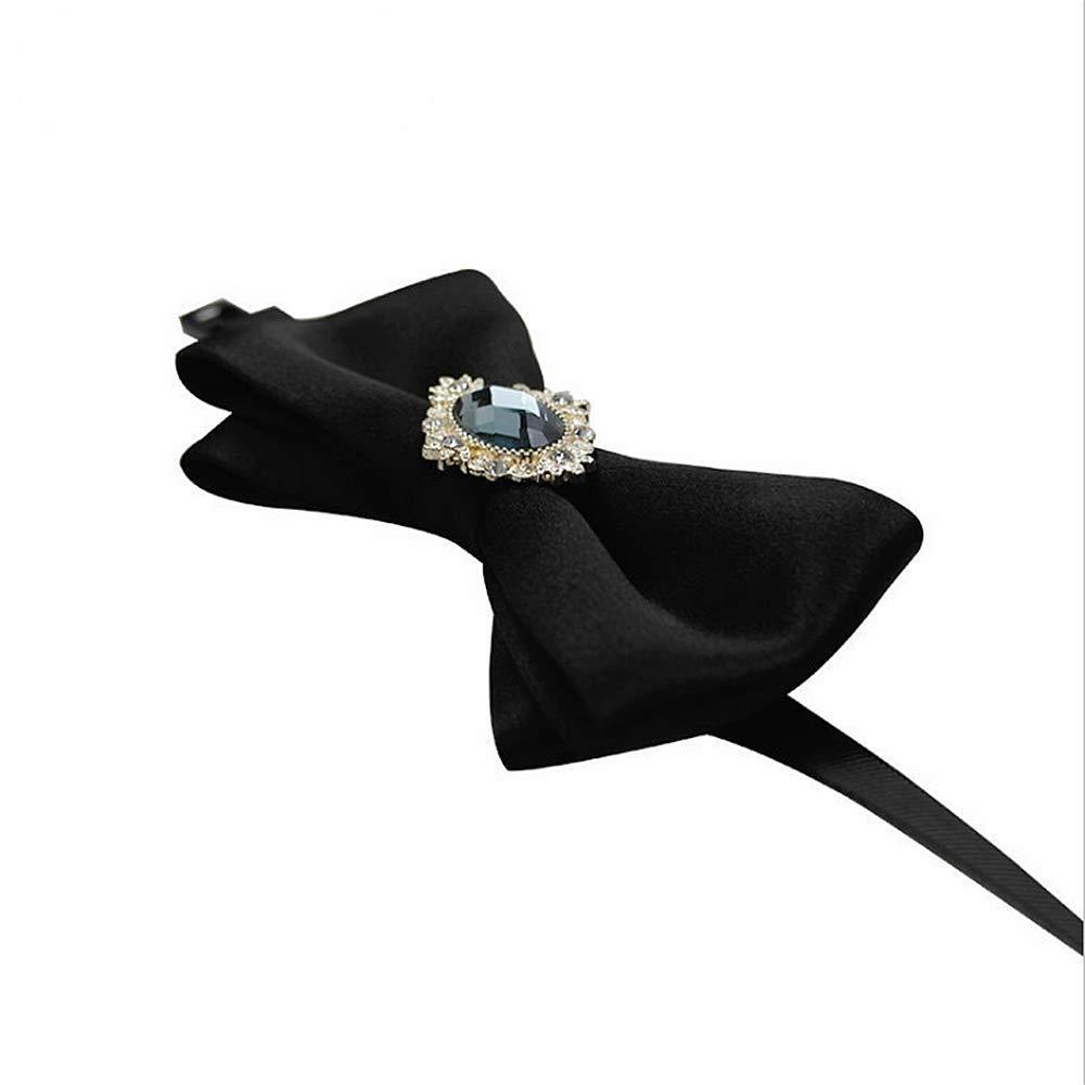 Pajaritas de Moda Crystal Mens Bow Tie Classic Pre-Tied Formal ...
