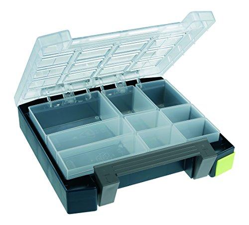 "Price comparison product image raaco 138277 Blue / Transparent Compartment box Boxxser 55 4x4-9"""