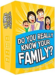 Do You Really Know Your Family? A Fun Family Game Filled with Conversation Starters and Challenges - Great for