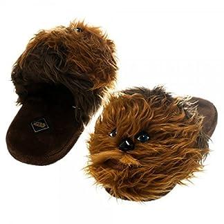0522ce142c32ec Bioworld Star Wars Chewbacca Men's Plush Slippers