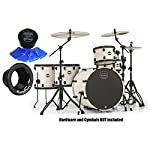 Mapex-MA528SFBAW-Mars-Bonewood-5-Pc-Crossover-Shell-Pack-w-Moongel-and-Kickport