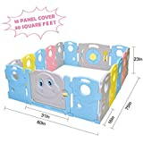 Baby Playpen - Kids 16 Panel Activity Centre Safety...