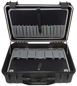 Famex 681-L Protector - Maletín de herramientas (vacío, 2 compartimentos)