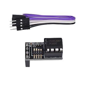 BIGTREETECH EEPROM V1.0 Module 3D Printer Accessories for SKR V1.4 Turbo SKR V1.3 Control Board I2C Interface EEPROM for BIQU-B1 Printer