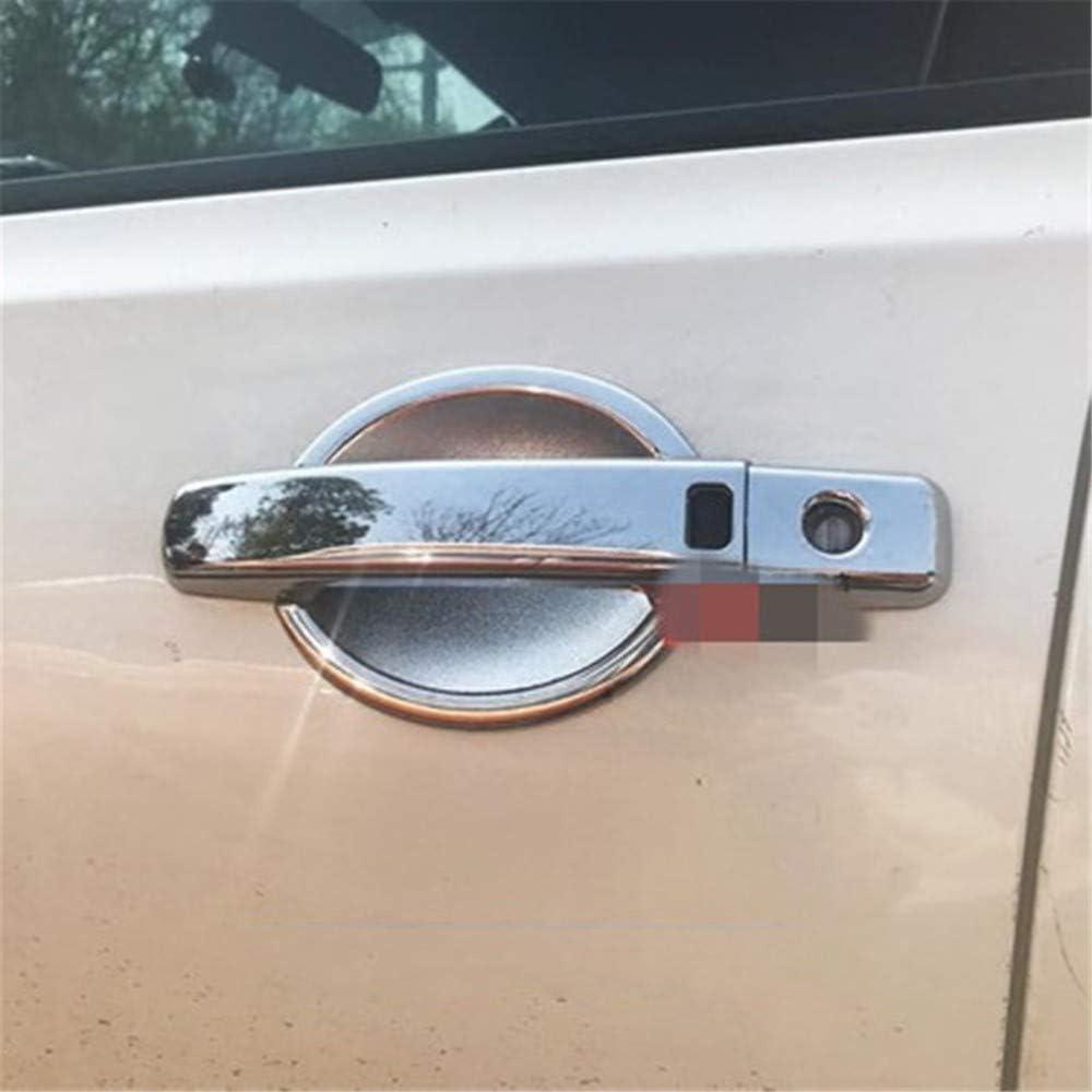 XLTWKK Car Styling ABS Maniglia della portiera cromata Maniglia della Porta Copertura Protettiva Copertura Rivestimento per Nissan Qashqai J10 2008-2015