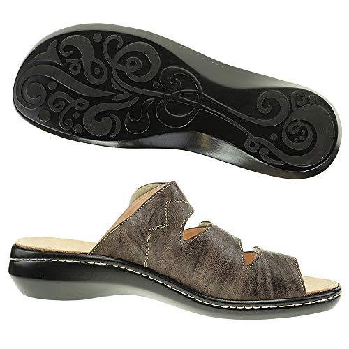 Thin Estar Eu Cuero Marrón Por 3 Para Zapatillas Mujer Casa De 2 36 rEwCrRq