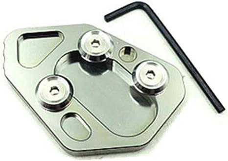 CHUDAN F800R Accessori Moto Cavalletto Laterale Pedana di Supporto per pedana Enlarger Piastra di Protezione per BMW F800R HP2 R1200S