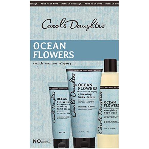 Carols Daughter Ocean Flowers Body Gift Set for Dry/Dull Skin (Energizing Skin Moisture Care Lotion)